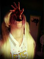 Withered Chica Cosplay: The child inside... by Heartwork-Circus