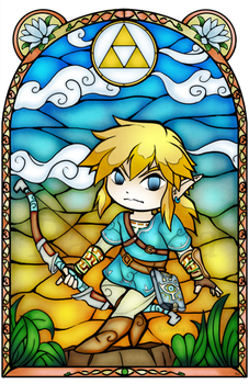 Breath of the Wild Stained Glass by Ranefea