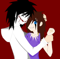 ~Jeff The Killer and Nicky by xNice-girlx