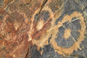 Petroglyphs #14 Saucers? by SharPhotography