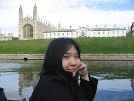 Punting in Cambridge by yapi