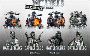 Battlefield 3 - The Icon Pack by Crussong