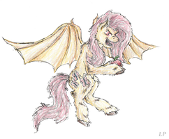 Flutterbat~ by LinkinshirePony