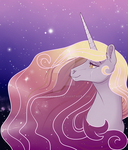 Galaxy Unicorn by Sugarcup91