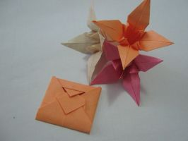 Origami Love Letter by DarkUmah