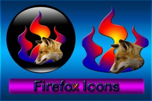 Firefox Icons by 0dd0ne