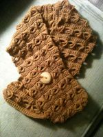Broomstick Lace Scarf by Vivacia18