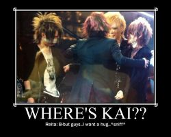 REALLY where is Kai by GazettEsUruha