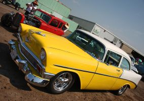 Classy 56 N' Cool Hot Rod by StallionDesigns