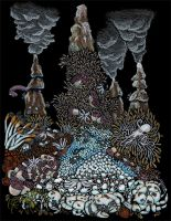 Antarctic Hydrothermal Vent by NocturnalSea