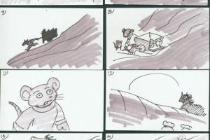CD - Redwall Scene Storyboard by whitegryphon