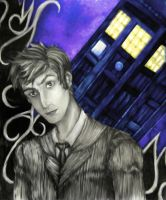Dr. Who - The 10th Doctor - Spacial Rip by MaverickTears