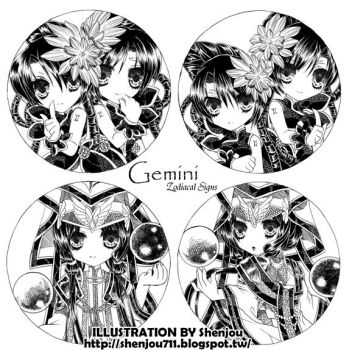 Original Work 05-06 Gemini by Shenjou