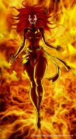 Dark Phoenix by Osmar-Shotgun