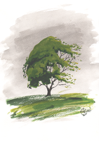 Tree Painting | Practice #1 by Nakovalnya-Art