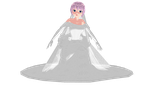 MMD Luka -  Wedding Dress - Picture by mbarnesMMD
