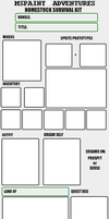 Homestuck Survival Guide Blank by cheappirate