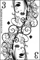 3 of spades by vasodelirium