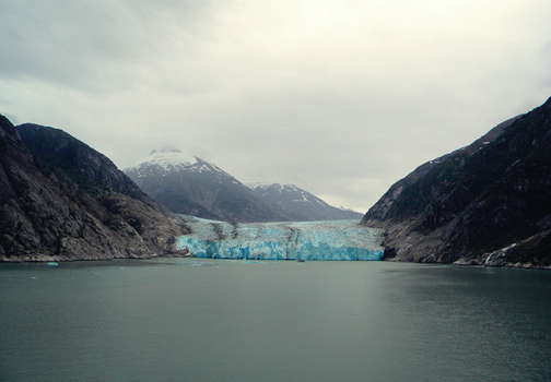 Tracy Arm Glacier Wide View by corpakneazle