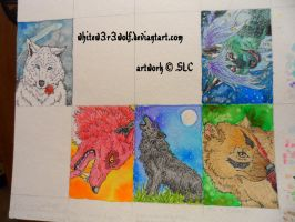 ::ACEO gifts:: by whitew3r3wolf