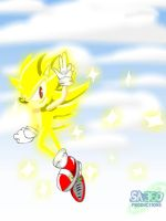Super Sonic the Hedgehog by Super-Aaron-360