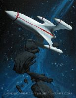 Reconnoitering the asteroid rim by Landscape-Painter