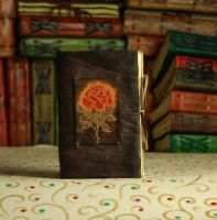 Perfect Rose Diary by gildbookbinders