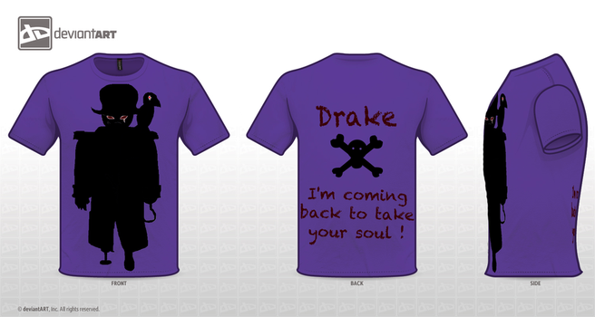 Drake's T-Shirt Contest by Skayeos