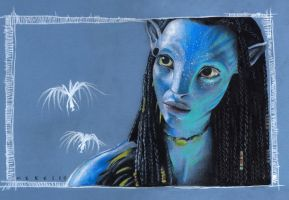 Neytiri from Avatar by Kapow2003