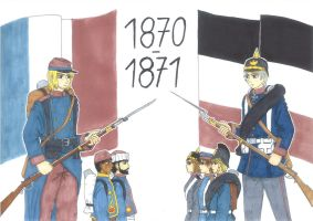 The Franco-Prussian War by xGeschwatzX