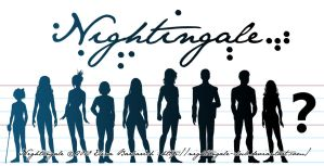 Nightingale - Character lineup by Yamino