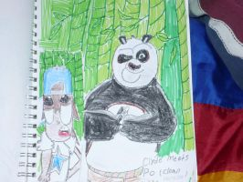 Toon Clyde meets Po by Africa2000