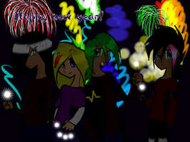 99. New year's eve by negativePotato