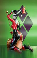 Harley Quinn Green Mccoy Vic55b by vic55b