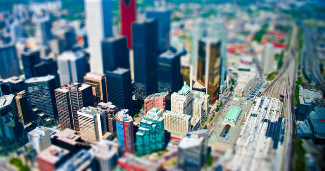 Mini Toronto by AndrewToPhotography