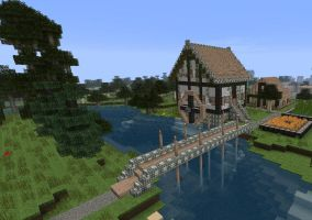Watermill by CuteAndy