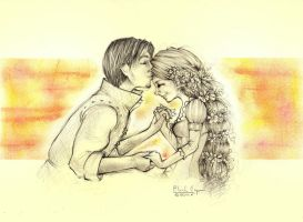 Tangled - Kiss for Rapunzel by PLlNs