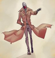 Detective by GasparNolasco by Robot-drawing-club