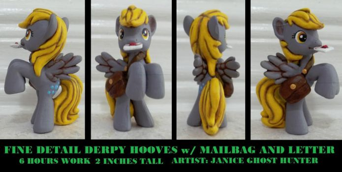 Fine Detail Derpy the Mailmare by janiceghosthunter