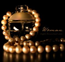 Woman by tiefel