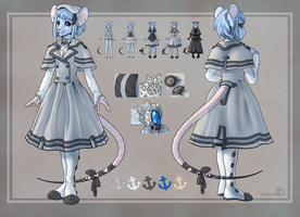 Outfit design - Inkstainedrat by Shalinka