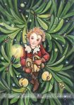 Christmas Tree Elf ACEO by JoannaBromley