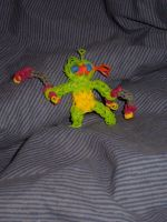Rainbow Loom Charm: TMNT: Mikey and Nunchucks by Culinary-Alchemist