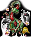 Dragon Sleeve 2 by artfullycreative