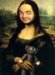 Mr Bean Mona Lisa by Eeveeisgerman