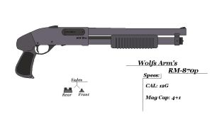 Wolfs Arm's RM-870P by GriffinDogR34