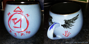 SPN: Angel Mug by bollatay