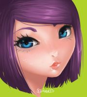 Asian Girl by so-squiggly