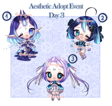 Aesthetic Event: Day 3 [1/3 OPEN] by Mewpyonadopts
