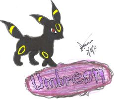 Umbreon by animeangel724